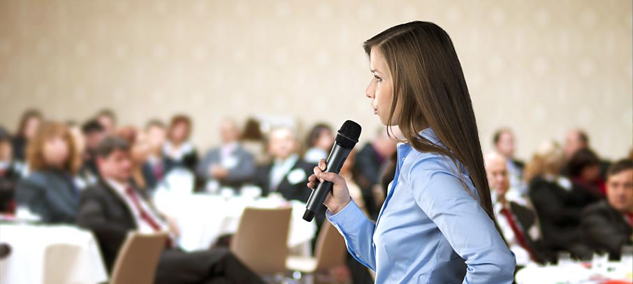 public speech This website offers an assortment of virtual tools to help users improve their public speaking skills.