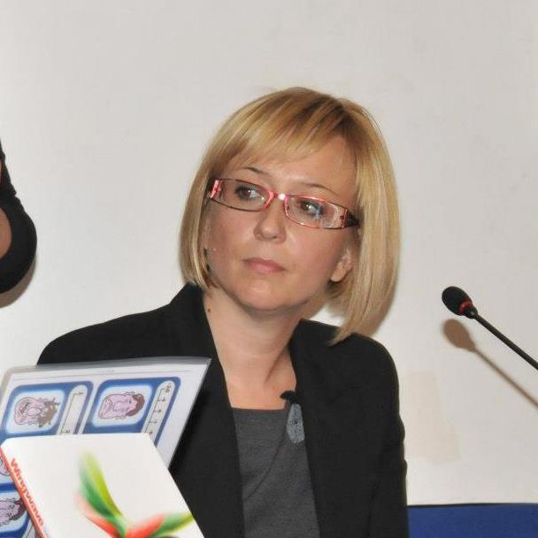 Silvia Ferenac na prezentaciji wingwave knjige
